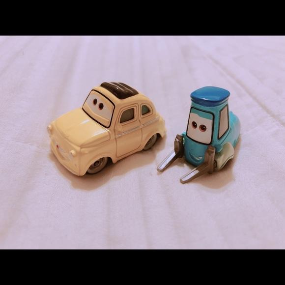 Disney Other Pixars Luigi And Guido Die Cast Cars Poshmark